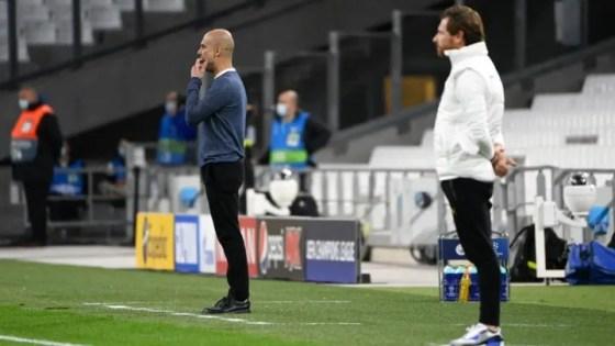 Pep Guardiola and Andre Villas-Boas meet again