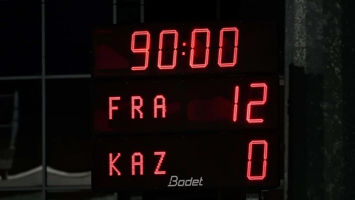 All the Best Stats from France Women's 12-0 Trouncing of Kazakhstan