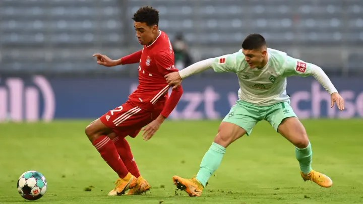 How Bayern Munich's Teenager Fared on His First Bundesliga Start