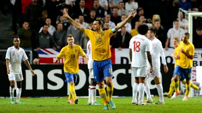 Zlatan Ibrahimovic's Ridiculous Overhead Kick vs England in 2012