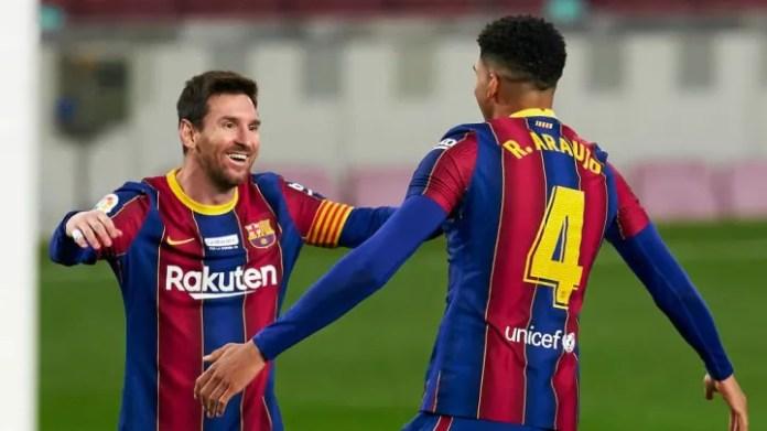 Ronald Araujo, Lionel Messi