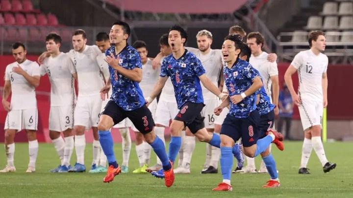 Japan v New Zealand Mens Football Quarterfinal O 5bf252a825fa852bea7cca732eae58ca