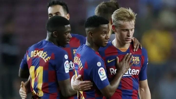 LaLiga SantanderFC Barcelona v Villarreal CF acd88affc8fe96ac35264b6c5dda6863