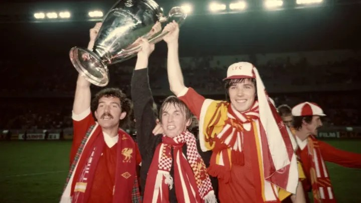 Alan Hansen, Kenny Dalglish y Graeme Souness