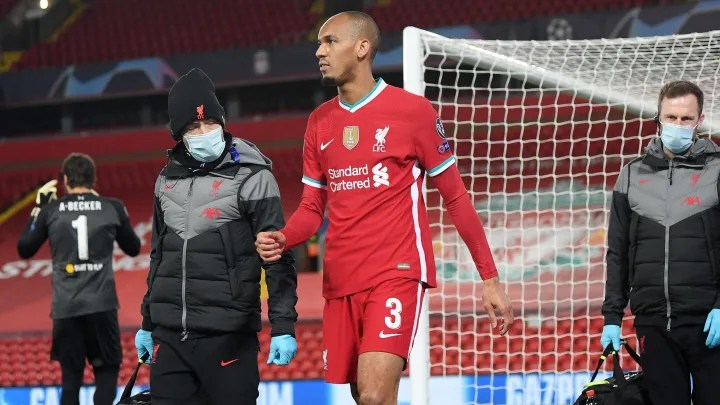 Fabinho Hamstring Injury 'Not as Bad' as First Feared