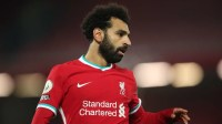 Mohamed Salah hints he is happy to stay at Liverpool