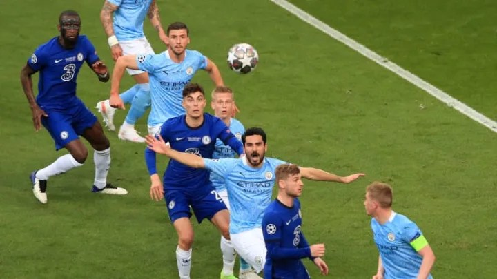 Chelsea defeated Manchester City in the Champions League final