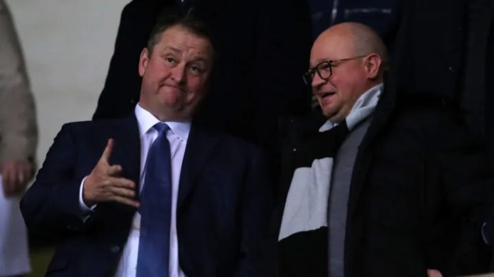 Mike Ashley, Lee Charnley