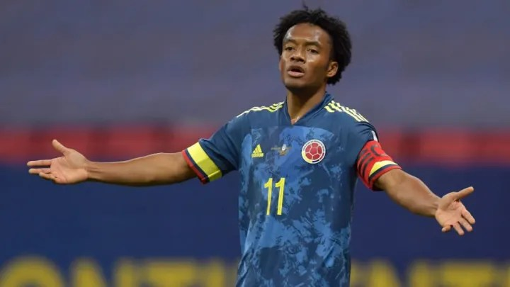 Juan Guillermo Cuadrado hopes to assert his status as a veteran in the Colombian National Team on the triple date