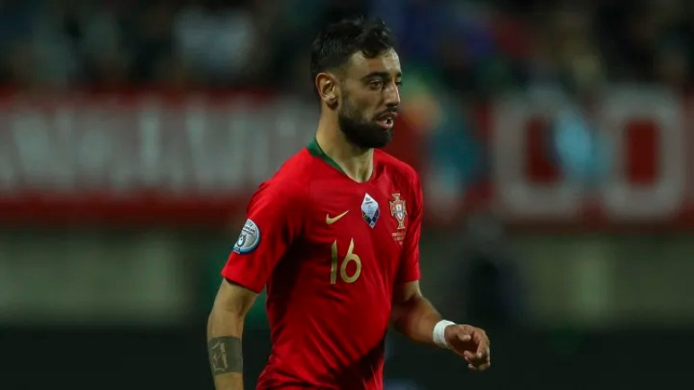 Bruno Fernandes Shares the Story of How He Watched Portugal Win Euro 2016