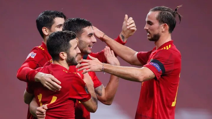 Player Ratings as La Roja Rout Seals Nations League Progress