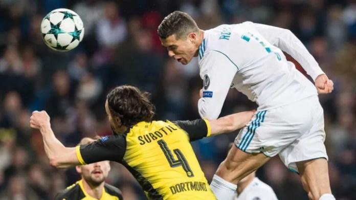 Cristiano Ronaldo, Neven Subotic