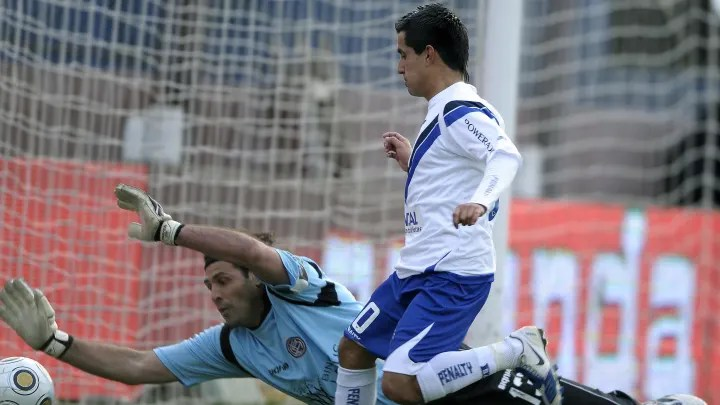 Velez Sarsfield's footballer Maxi Moral