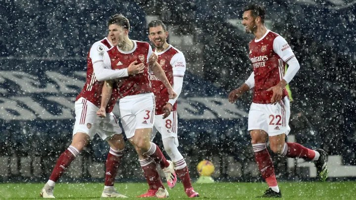 Arsenal continue mini-revival as youngsters shine again in emphatic win over West Brom