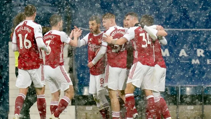 Player Ratings as Gunners overcome blizzard to crush Baggies
