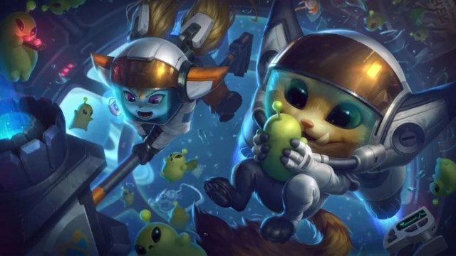 Astronaut Gnar's splash art.
