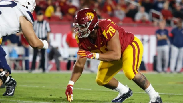USC football Mock Draft roundup: Jay Tufele projected for first round