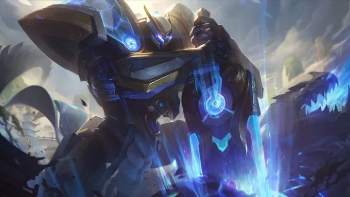 Mecha Kingdoms Garen Skin Splash Art, Price, Rarity, Release Date ...