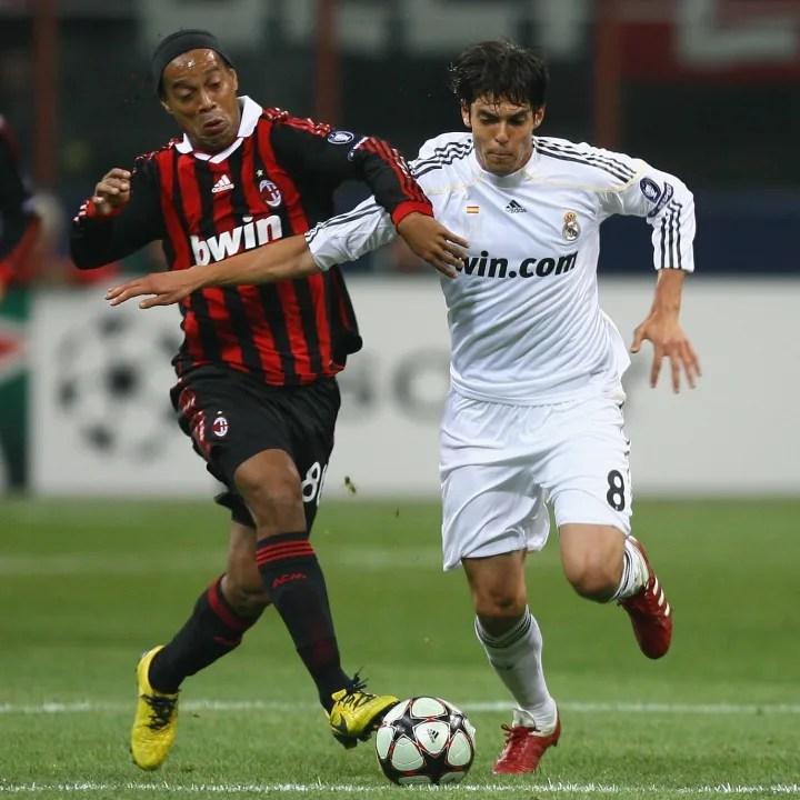 Kaká, Ronaldinho