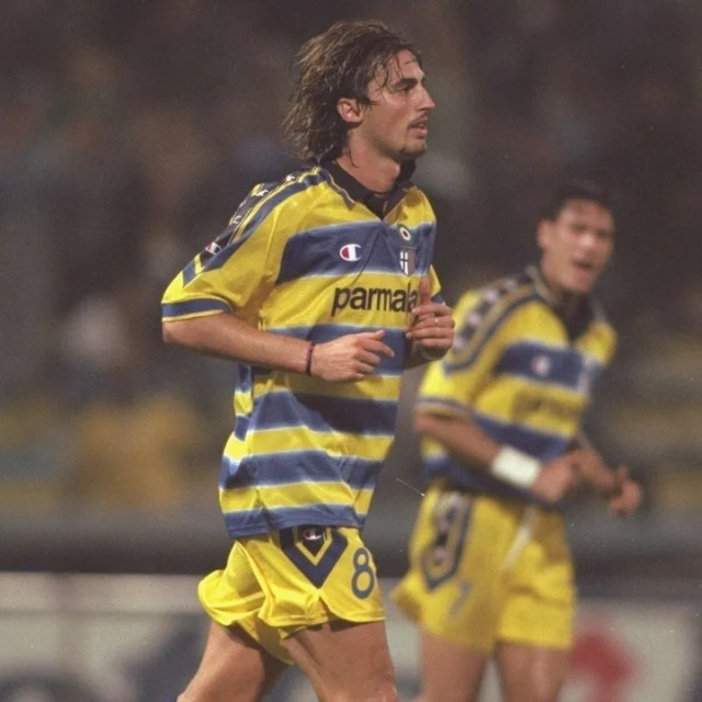 Dino Baggio won the UEFA Cup three times in the 1990s