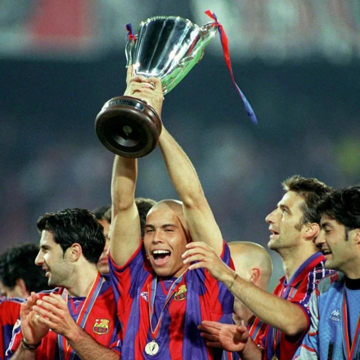 Ronaldo Nazario estuvo un año en el Camp Nou