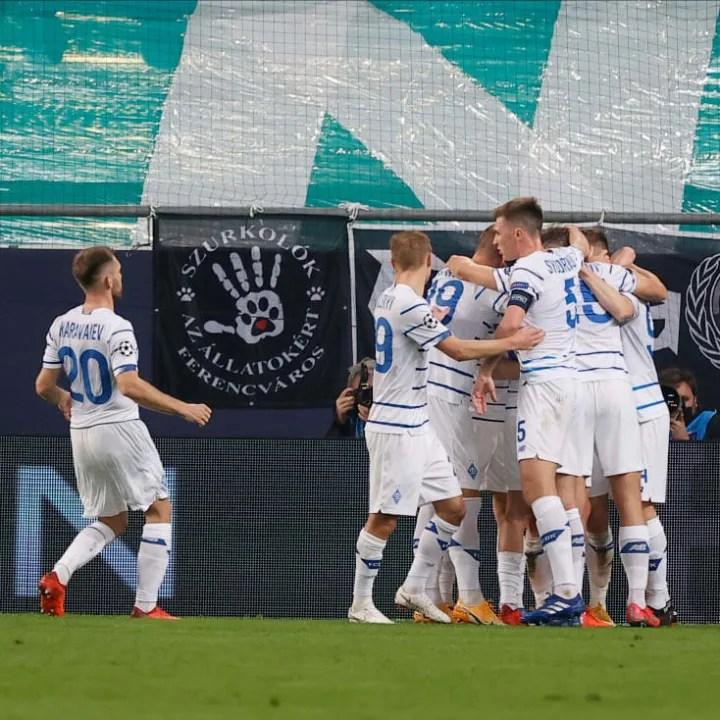 Ferencvarosi TC v FC Dynamo Kyiv: Group G - UEFA Champions League