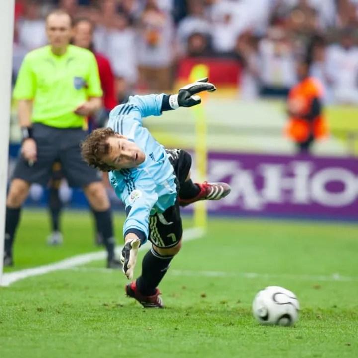 Jens Lehmann - Soccer Goalkeeper
