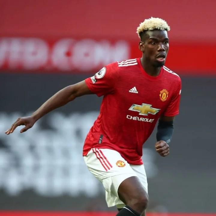 Paul Pogba has denied holding contract talks with Man Utd