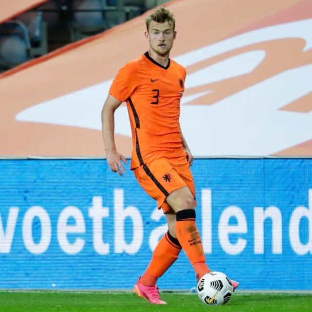 Matthijs de Ligt will miss his side's opening game of Euro 2020