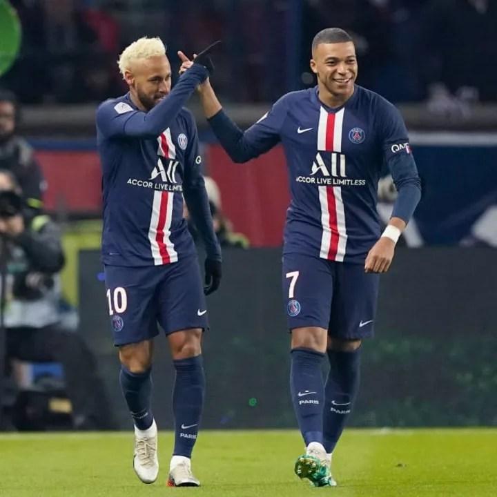 Kylian Mbappé, Neymar Jr