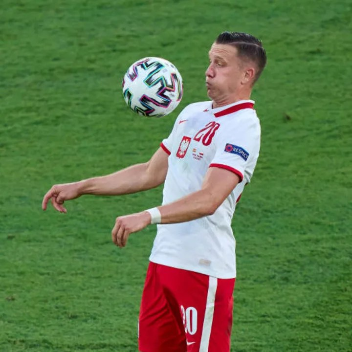 Piotr Zielinski was named in Poland's Euro 2020 squad