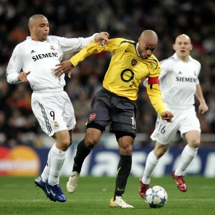 Thierry Henry, Ronaldo