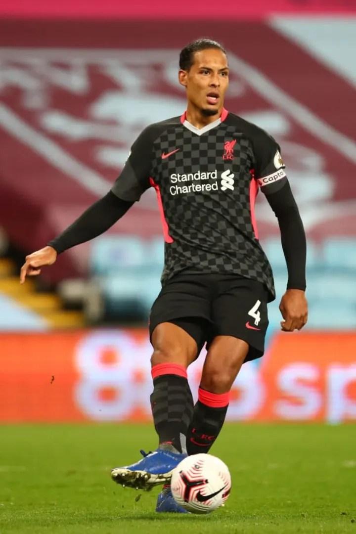 Virgil van Dijk has been nominated in defence