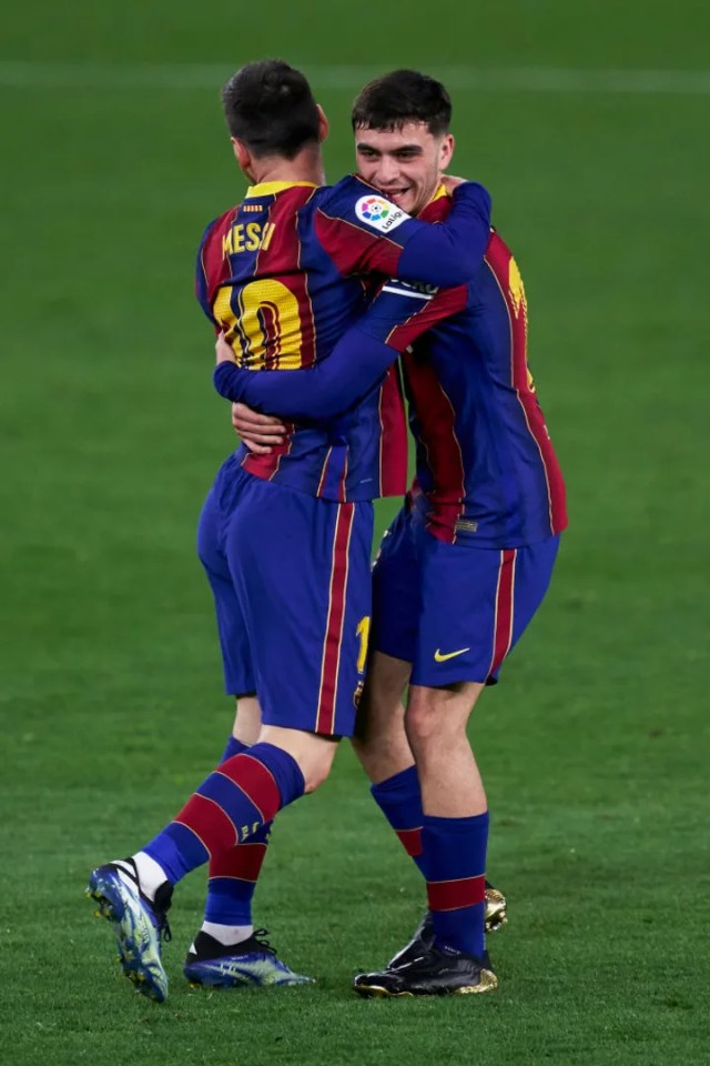 Lionel Messi, Pedro Gonzalez Lopez 'Pedri'