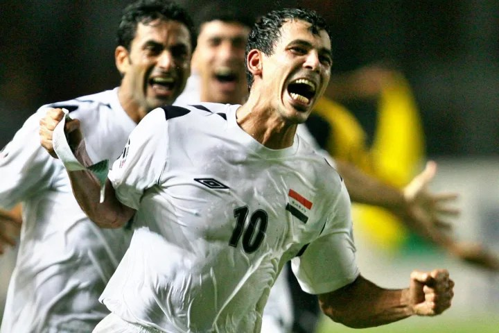 Mahmoud inspired Iraq to their finest footballing triumph