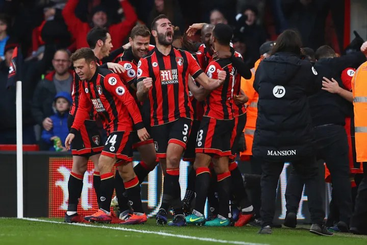 3-1 down with 15 minutes to go, Bournemouth won...somehow