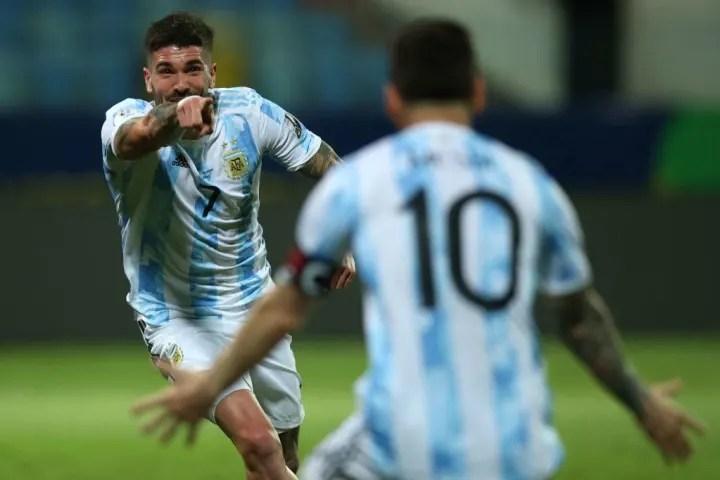 Rodrigo De Paul, Lionel Messi
