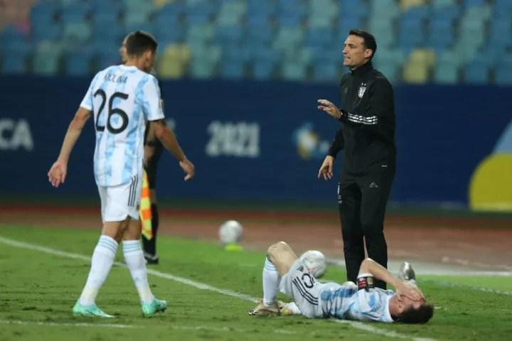 Lionel Messi, Lionel Scaloni