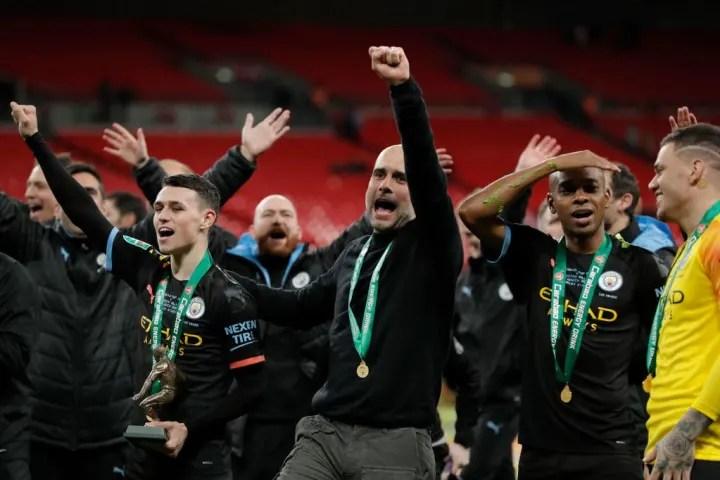 Aston Villa v Manchester City Carabao Cup Final 2020