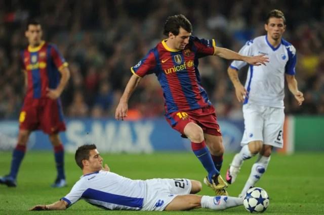 Lionel Messi, Martin Vingaard, Claudemir