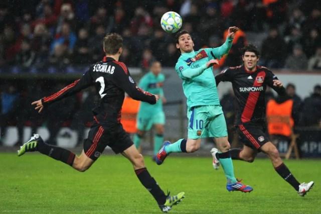 Barcelona´s Argentinian striker Lionel