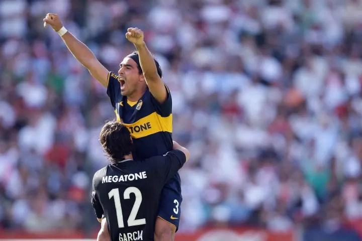 Boca Juniors' footballer Claudio Morel R