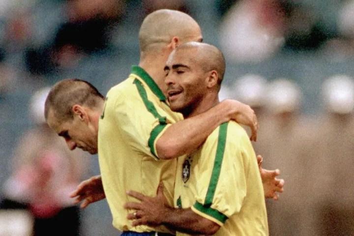 Ronaldo, Romario, Dunga