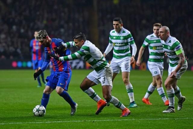Emilio Izaguirre, Lionel Messi