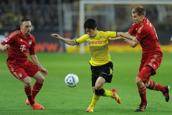 El Bayern fue derrotado por el Dortmund durante la primera parte