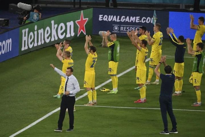 EURO 2020: Ukraine and England