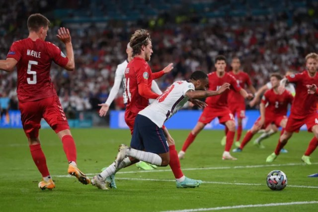 UEFA are happy that England should have been given a penalty against Denmark