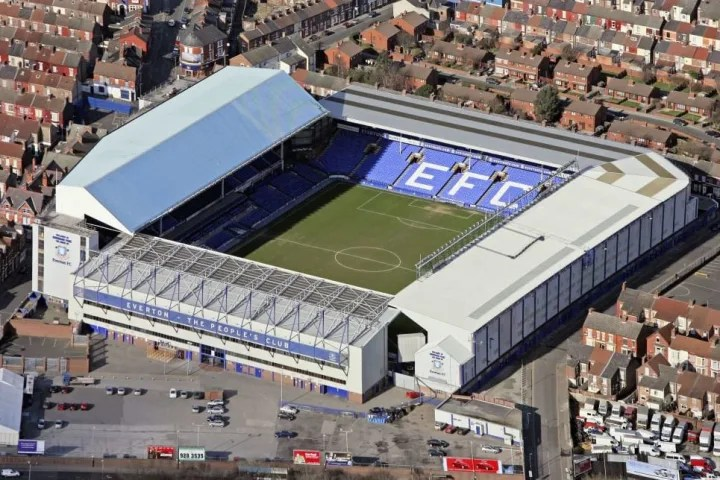 Everton Football Club's Goodison Park Ground