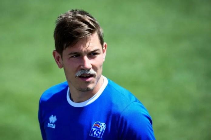 Skulason shkoi në Kupën e Botës 2018 me Islandën, por nuk luajti