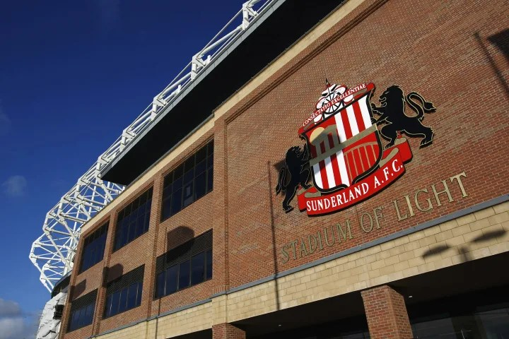 General view of the Stadium of Light